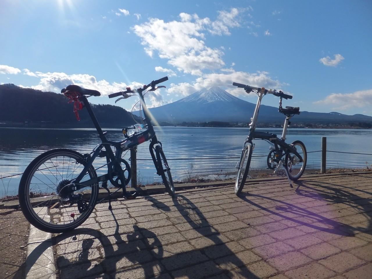 เที่ยวด้วยตัวเอง ปั่นจักรยานชมภูเขาไฟฟูจิที่คาวากุจิโกะ!