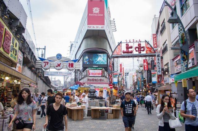 ลายแทงตลาดอาเมะโยโกะ ช้อปปิ้ง+กินจุใจ