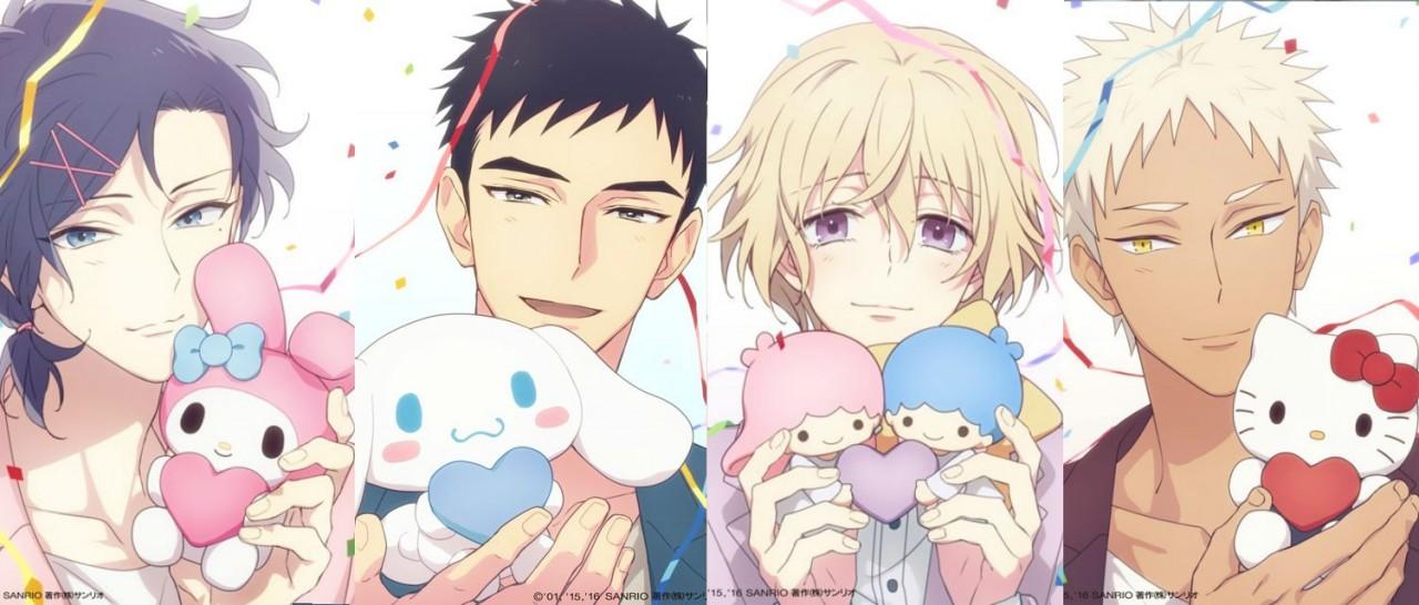"""เมื่อยุคเปลี่ยน Sanrio ก็ต้องเปลี่ยน กับ """"หนุ่มซานริโอ้กุ๊กกิ๊ก"""" (Sanrio Danshi)"""