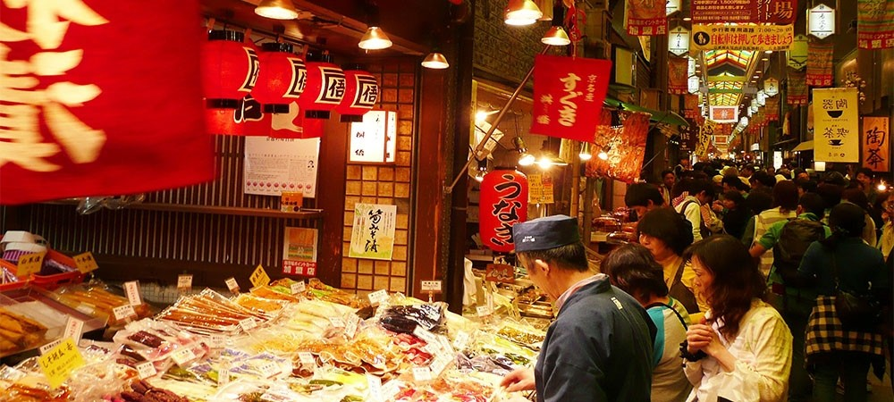 ตะลุยชิมแหลกในเกียวโตที่ Nichiki Market