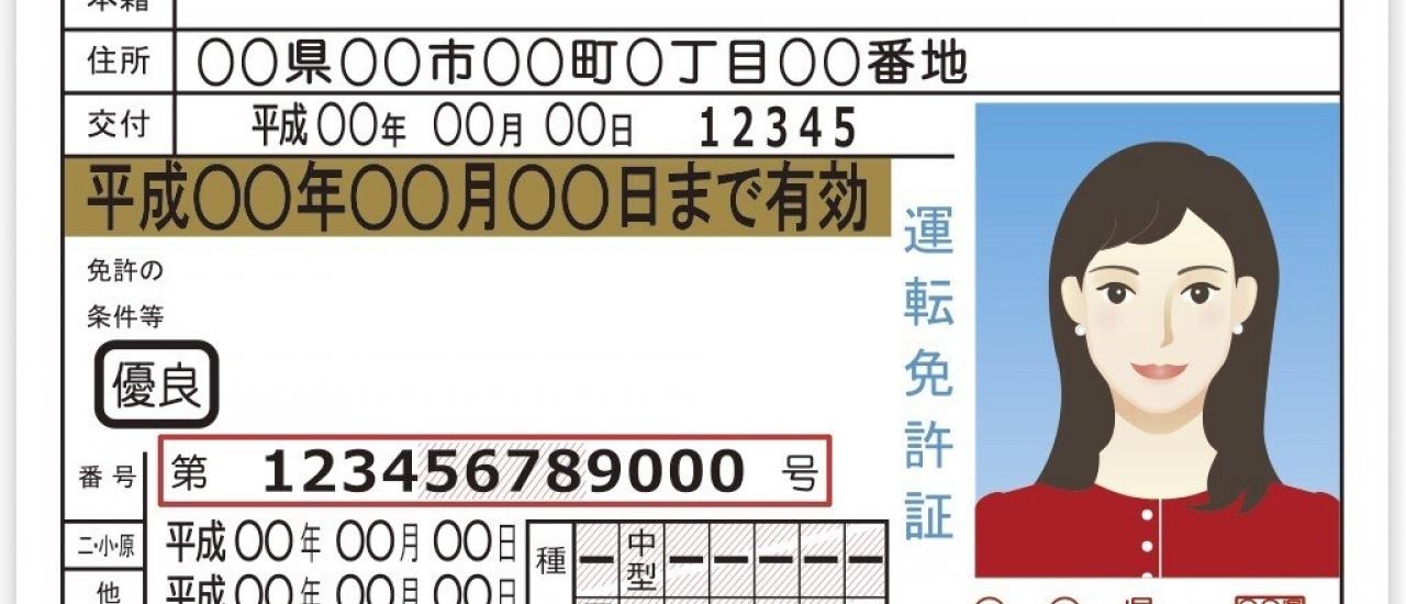 ถอดรหัสลับเลข 12 หลักบนใบขับขี่ญี่ปุ่น