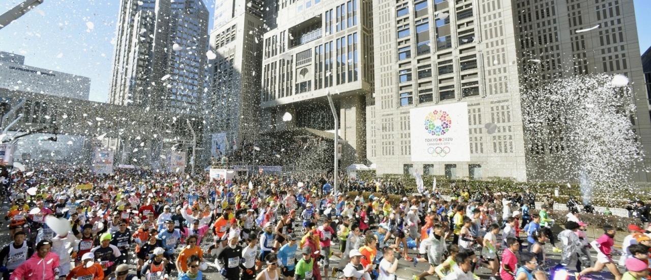 โตเกียวมาราธอน เส้นทางนักวิ่งระดับโลก