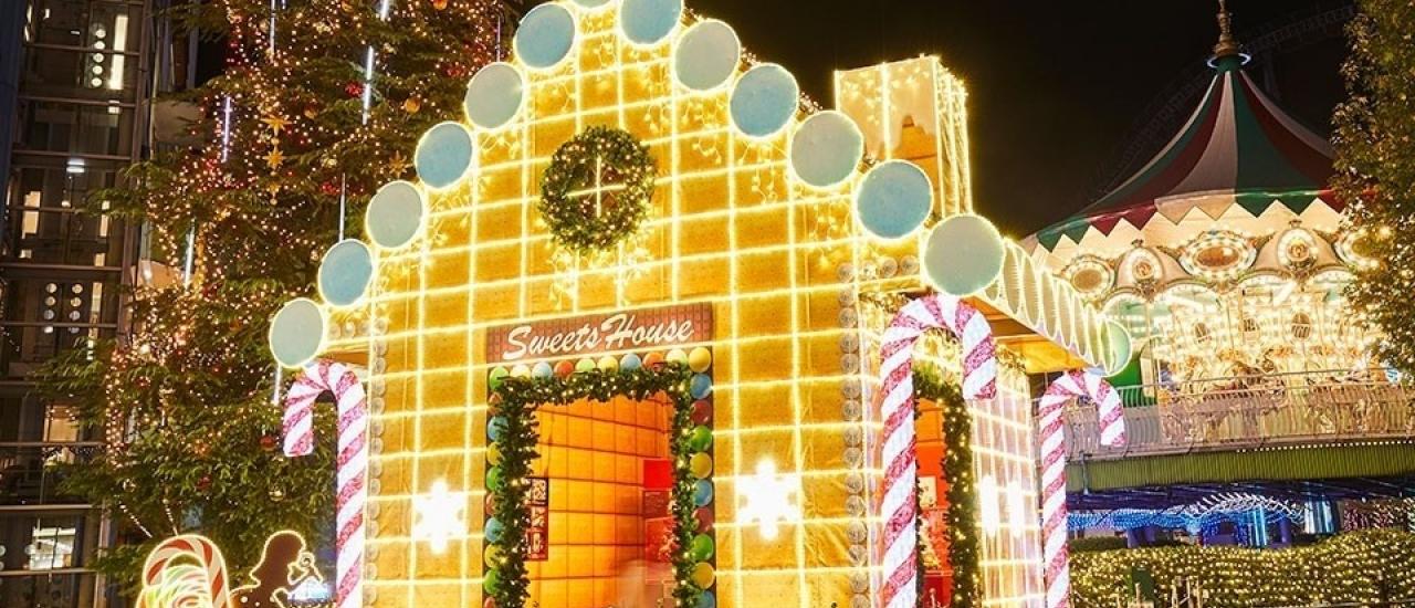สิ้นปีนี้ห้ามพลาด ... สถานที่ดูไฟประดับในโตเกียว